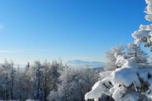 Widok na Wysokie Tatry